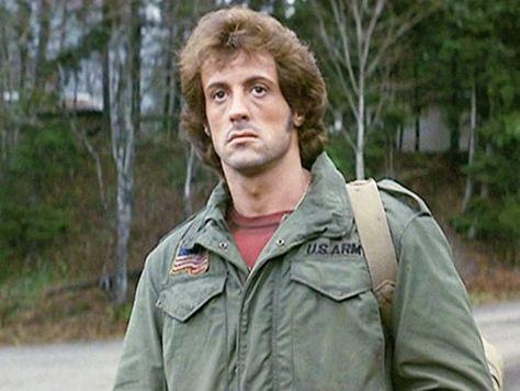 M65 férfi kabát Stallone