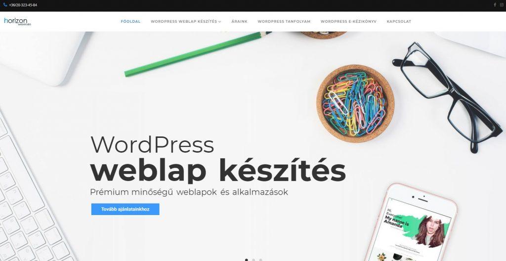 Válság ellen WordPress weboldal készítés